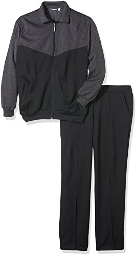Schneider Sportswear Herren Anzug Stuttgart Grau Meliert/Dunkelgrau, 26