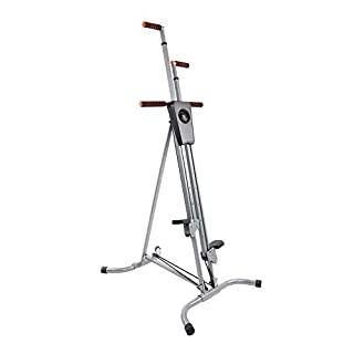 Zerone Vertical Climbing Machine, Cardio Exercise Home Climbing Machine Home Stepper