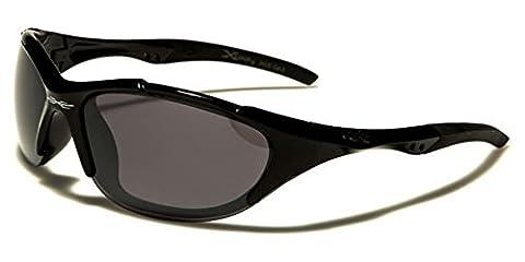 X-Loop - Lunettes de soleil - Homme multicolore Black/black lens