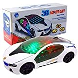 FAVELA V-Racing Bump & Go Racing Car 3D Light and Sound For Small Kids