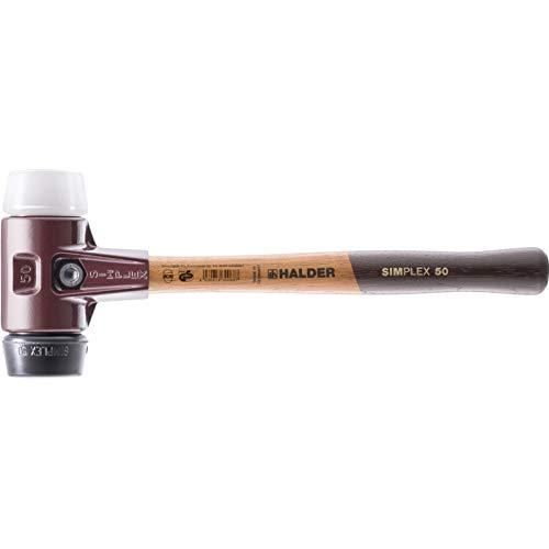 SIMPLEX-Schonhämmer, mit Stahlgussgehäuse und hochwertigen Holzstiel | Ø=40 mm | 3027.040
