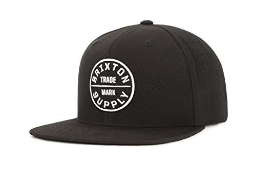 Brixton Cap OATH 3  black, One Size, BRIMCAPOAT3