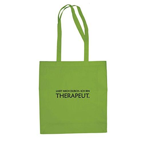 Lasst bin Hellgrün durch Therapeut Stofftasche mich Ich Beutel SrSqw7Rt