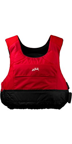 Zhik Racing Cut 50N PFD Kajak-Jolle Segeln PFD Schwimmhilfe für Wassersport Rot - Unisex - Neopren-Neopren-Schultergurte -