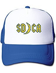 cool-san-diego-chargers-unisex-baseball-cap-mesh-hat-adjustable-one-size-by-je9wz