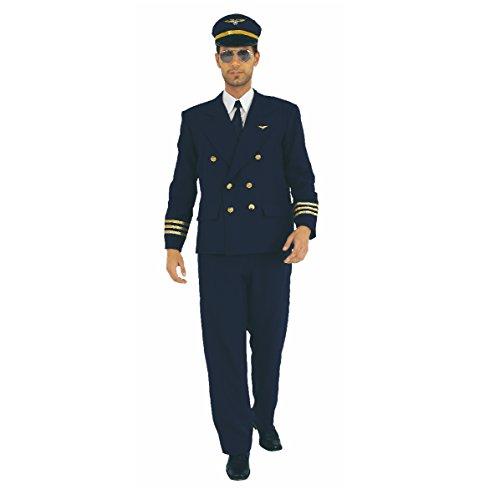 (Kostüm Pilot, Fliegeruniform (Medium))