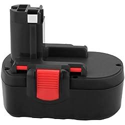 Joiry 18V 3.5Ah Ni-MH Batterie pour Bosch BAT025 BAT026 BAT160 BAT180 2607335277 2607335535 2607335536 2607335266 2607335735 PSR 18 VE-2 GSR 18 VE-2 PSB 18 VE-2 GSB 18 VE-2
