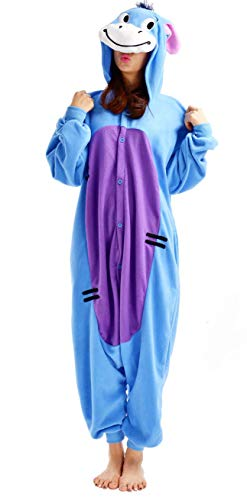 hsene Anime Cosplay Adult Tier Onesie Pyjama Schlafanzug Unisex Größe M ()
