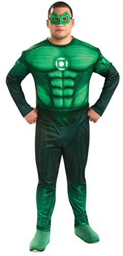Rubie's Kostüm Hal Jordan Green Lantern Deluxe großer Mann Größe