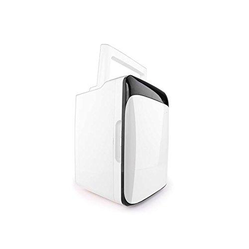 LT&NT Réfrigérateur de Voiture de Cabine de Chauffage et de Réfrigération de Véhicule à Double Usage portatif Mini-Réfrigérateur 12V/220V-240V, Noir + Blanc