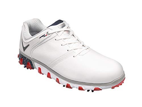 Callaway Apex Pro S, Zapatillas de Golf para Hombre, Negro Negro/Azul 223, 45 EU