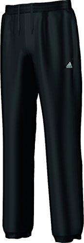 adidas, Pantaloni sport Bambino Essentials SweatPants Brushed Closed Hem, Nero (black), 128 cm Nero (black)