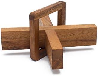 Mystère X : Casse-Tête 3D fait fait fait à la main ; organique puzzle en bois de SiamFemmedalay | Une Bonne Conservation De Chaleur  76f048