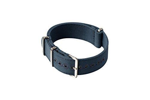 cinturino-canvas-nato-21mm-khaki-blue-stitched-holes