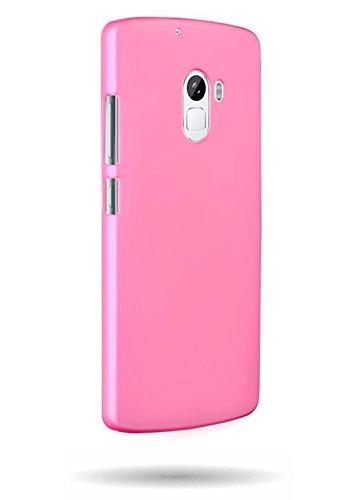 WOW Imagine SWHLK4N/BP Rubberised Matte Hard Case Back Cover For LENOVO K4 NOTE (Baby Pink)