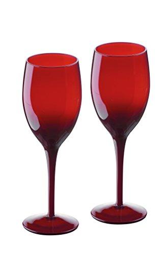 Artland Midnight Service de 2 Verres à vin Rouge