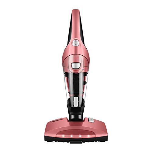OR&DK Aspirador Anti ácaros UV, Mini aspiradora de Mano, Ideal para colchones, Almohadas, Cortinas, Sofás y alfombras-Rose Red