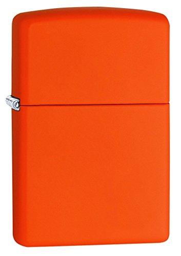 Zippo Feuerzeug, Orange Matte