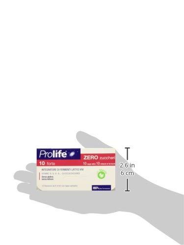 Prolife 10 Forte Integratore con Probiotici Senza Zucchero - 10 flaconcini da 8 ml 5 spesavip