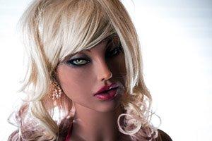 Sexdoll Kimberly - Hautfarbe : braun - dunkel - Größe : 155 cm - A Cup