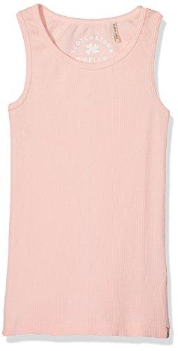Scotch & Soda R'Belle Mädchen Top Basic Rib Tank, Rosa (Nougat 109), 104 (Herstellergröße: 4) (Tank Shirt Basic Top Rib)