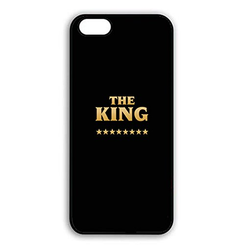 Boyfriend and Girlfriend Lovers Iphone 7 Case Fashion Unique King Queen Matching Couple Phone Case Cover for Iphone 7 Best Friends Dream Color015d