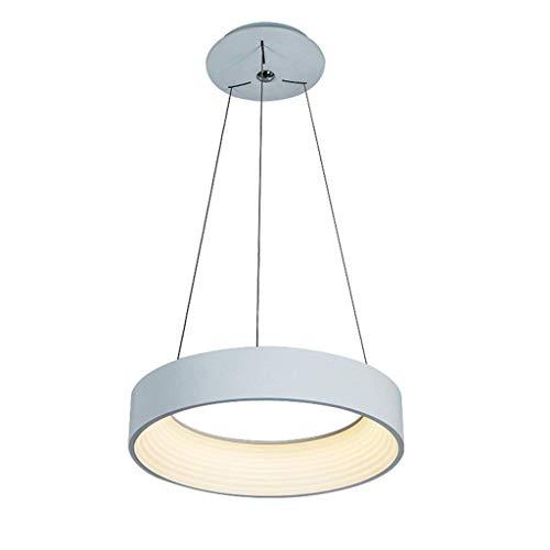 chter führte modernen Acryl 1 Ring-Anhänger (2018) warm-gewalzten Zyklus-Weiß-Anhänger der unbedeutenden Beleuchtung, Spitzenbüro-Innenbeleuchtung Energiesparlamp ()
