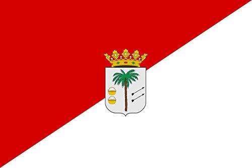 Preisvergleich Produktbild Flagge Palma del Condado   La Palma del Condado, Huelva, Spain   Palma del Condado, Huelva, España   Querformat Fahne   0.06m²   20x30cm für Diplomat-Flags Autofahnen