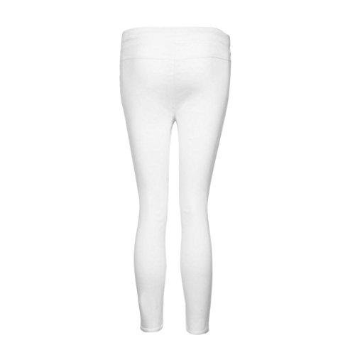 HKFV - Leggings sportivi -  donna White XXXXL