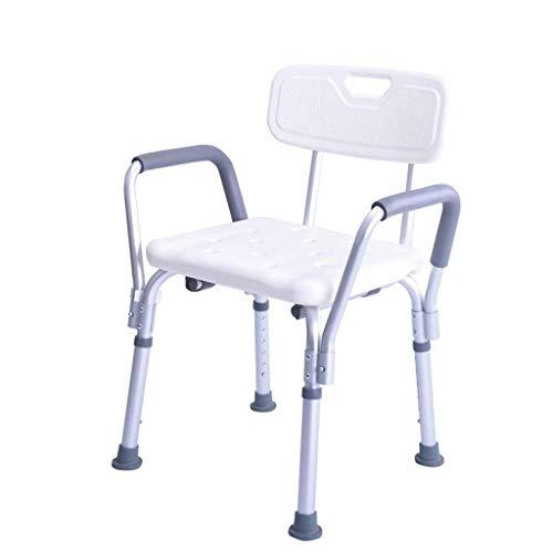 SuRose Stuhl Ältere Person, die ältere Menschen der Aluminiumlegierung badet, die das Baden der schwangeren Frauen verteidigen