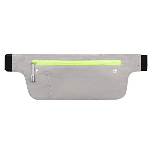 FZHLY Neue Lauf Handy-Taschen Männer Und Frauen Multifunktionales Ultradünne Tasche LightGray