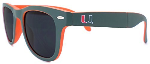 Glass-U Collegiate Sunglasses (Miami Hurricanes)