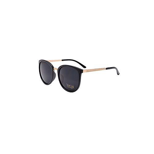 URSING Unisex Stilvolle Casual Sonnenbrille UV400 Retro Runde Outdoor Polarisierte Sonnenbrille für Damen Herren Katzenauge Cateye Brille Women Sunglasses Damenbrillen Eyewear (A)