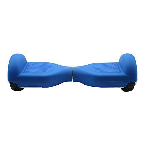 SmartGyro Serie X Cover Blue - Funda para patín eléctrico/Hoverboard, Silicona, Compatible con SmartGyro (X1, X2 y X3), Color Azul