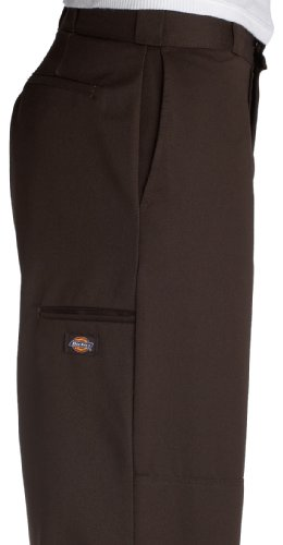 Dickies D/Knee Work Pant, Pantaloni da Uomo Dark Brown