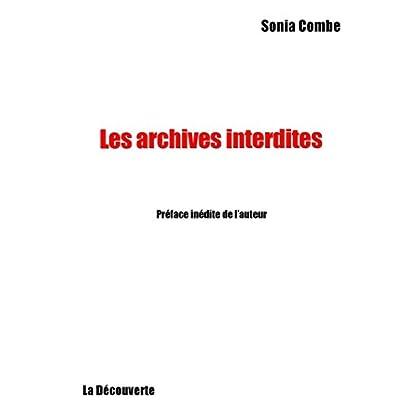 Archives interdites (La Découverte/Poche t. 115)