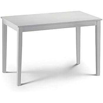 white laquer furniture. Julian Bowen Taku Dining Table - White Lacquer Laquer Furniture