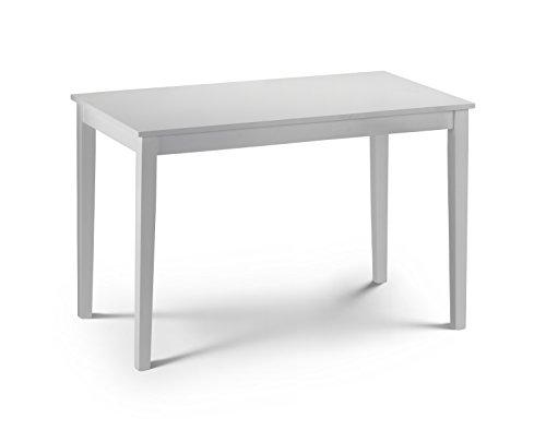 Julian bowen taku - tavolo laccato, colore: bianco