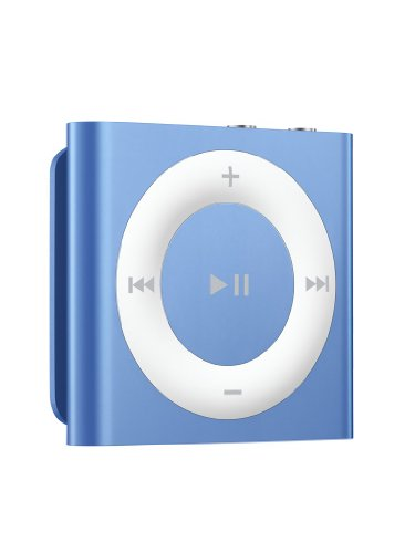 Apple iPod shuffle 2 GB MP3-Player (Modell 2010/11) blau