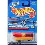 204-oscar-mayer-wienermobile-5-hole-wheels-91-card-malaysia-collectible-collector-car-mattel-hot-whe