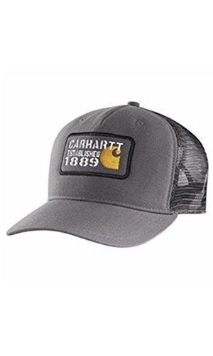 Carhartt Gaines Cap - Gravel CH101998039GVL Strickmütze Hüte Beanie Mütze Kappe Baseball-Cap Männer CH101998039GVL-One Size Carhartt Baseball-kappe