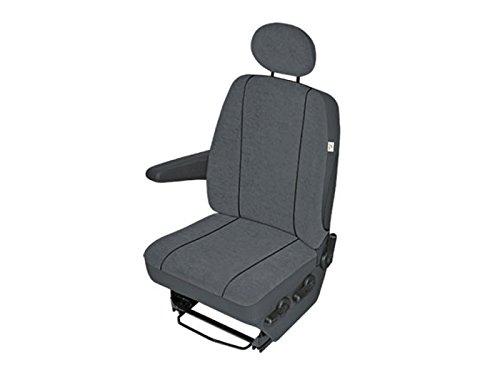 eSituro SCSC0004-2 2er Einzelsitzbezug universal Sitzbez/üge f/ür Auto Schonbezug Schoner aus Kunstleder grau
