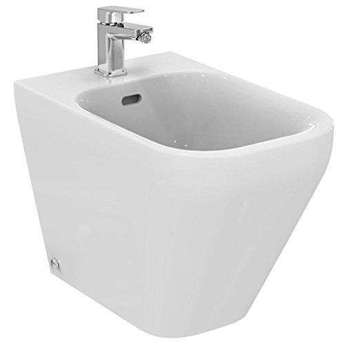 Ideal Standard serie Tonic II K5238 Bidet a terra filo parete bianco