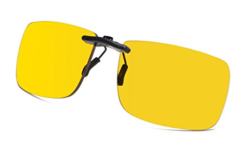 Eyekepper Blau Blockierung Clip auf Brille Video Gaming Computer Brillen Anti Mehr als 80% Blau Licht Überanstrengung der Augen Erleichterung - Block-filter