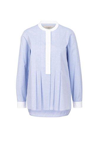 maxmara-weekend-ragusa-camicia-donna-girocollo-in-cotone-bicolore-made-in-italy-it44-bluette