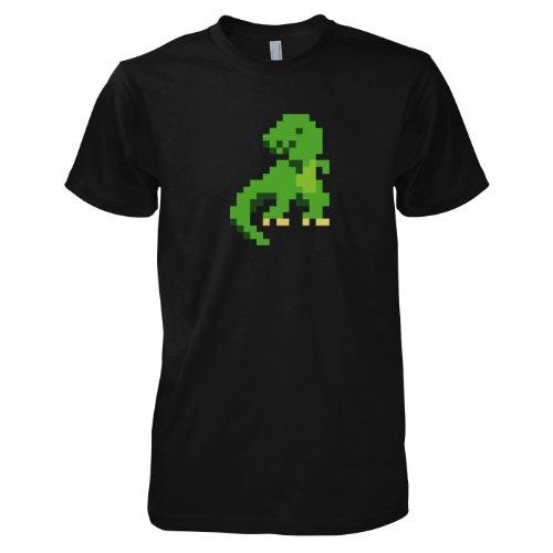 TEXLAB - Pixelmonster - Herren T-Shirt Schwarz