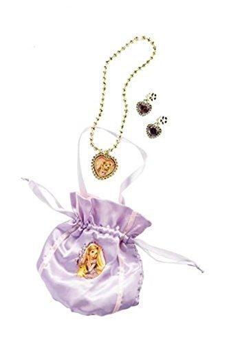 Rubie 's Offizielles Rapunzel Tasche und Schmuck-Set Kind -
