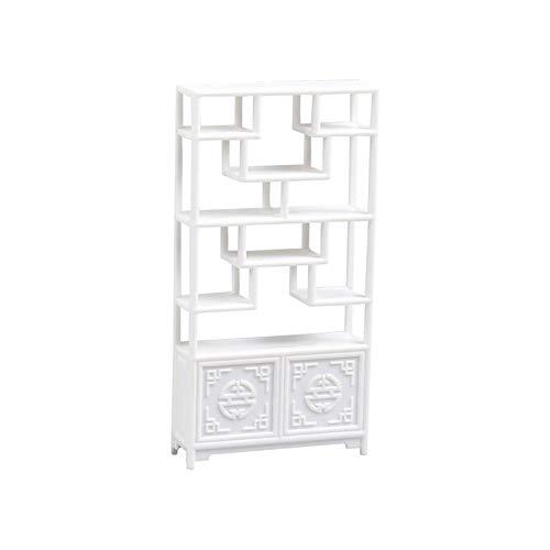 WEINANA Architekturmodell Material Innenlandschaft Chinesische Möbel Kleines rundes Regal 1:20