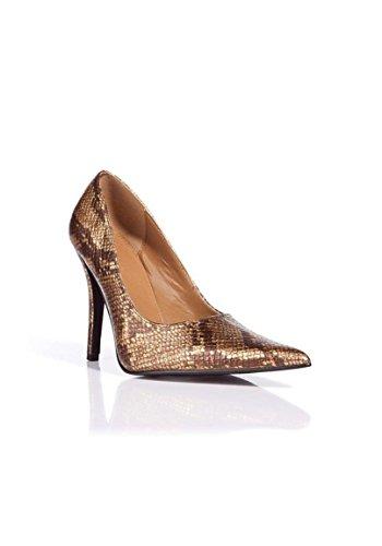 Apart, Scarpe col tacco donna Multicolore (cognac-gold)