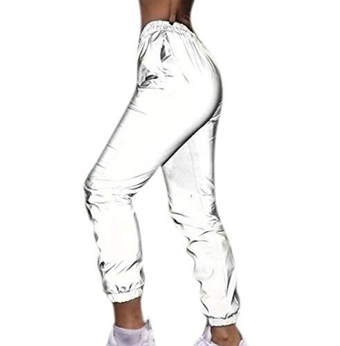 Keepmore Pantalón Jogger Reflectante Invierno Mujer
